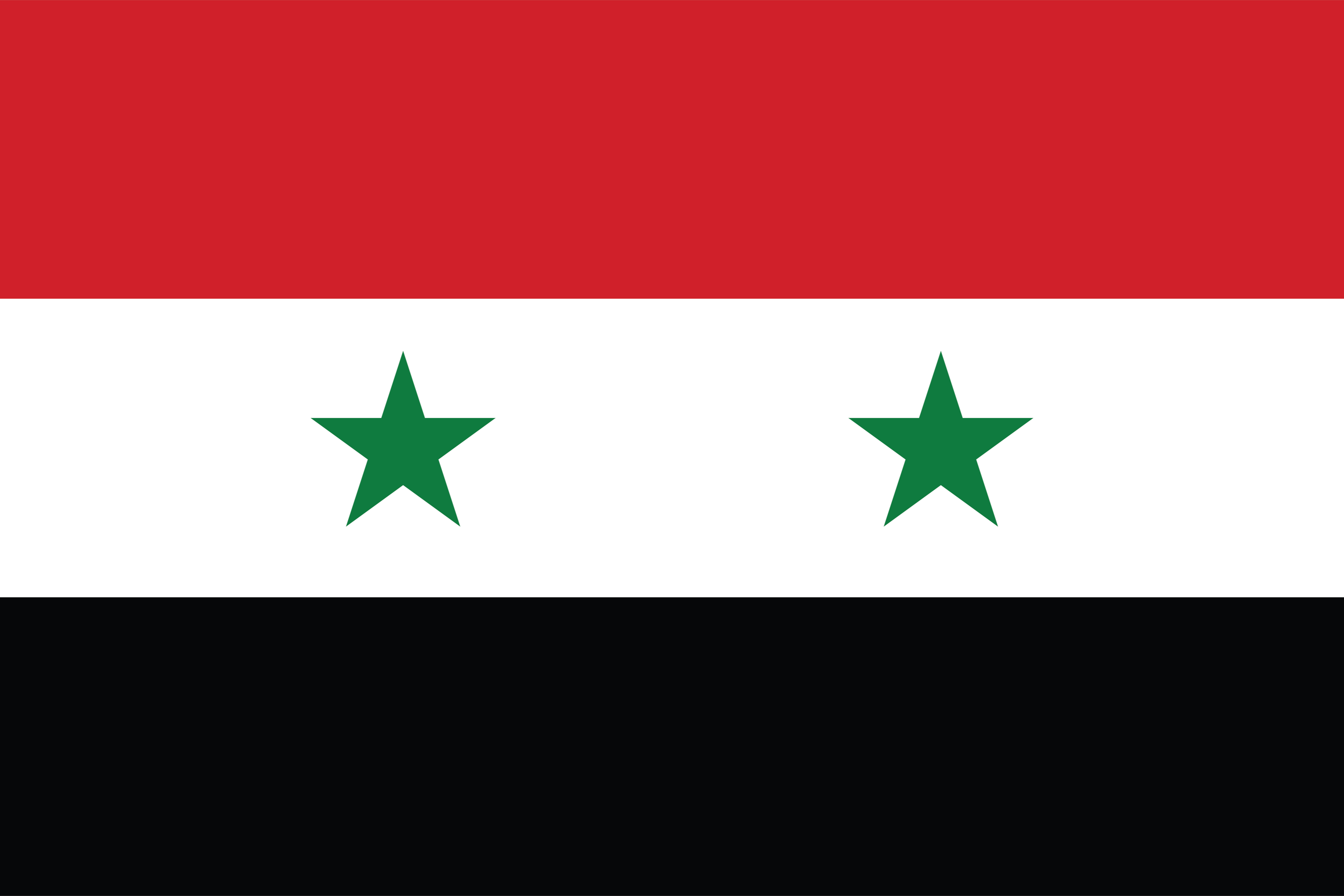 Flag of Syrian Arab Republic