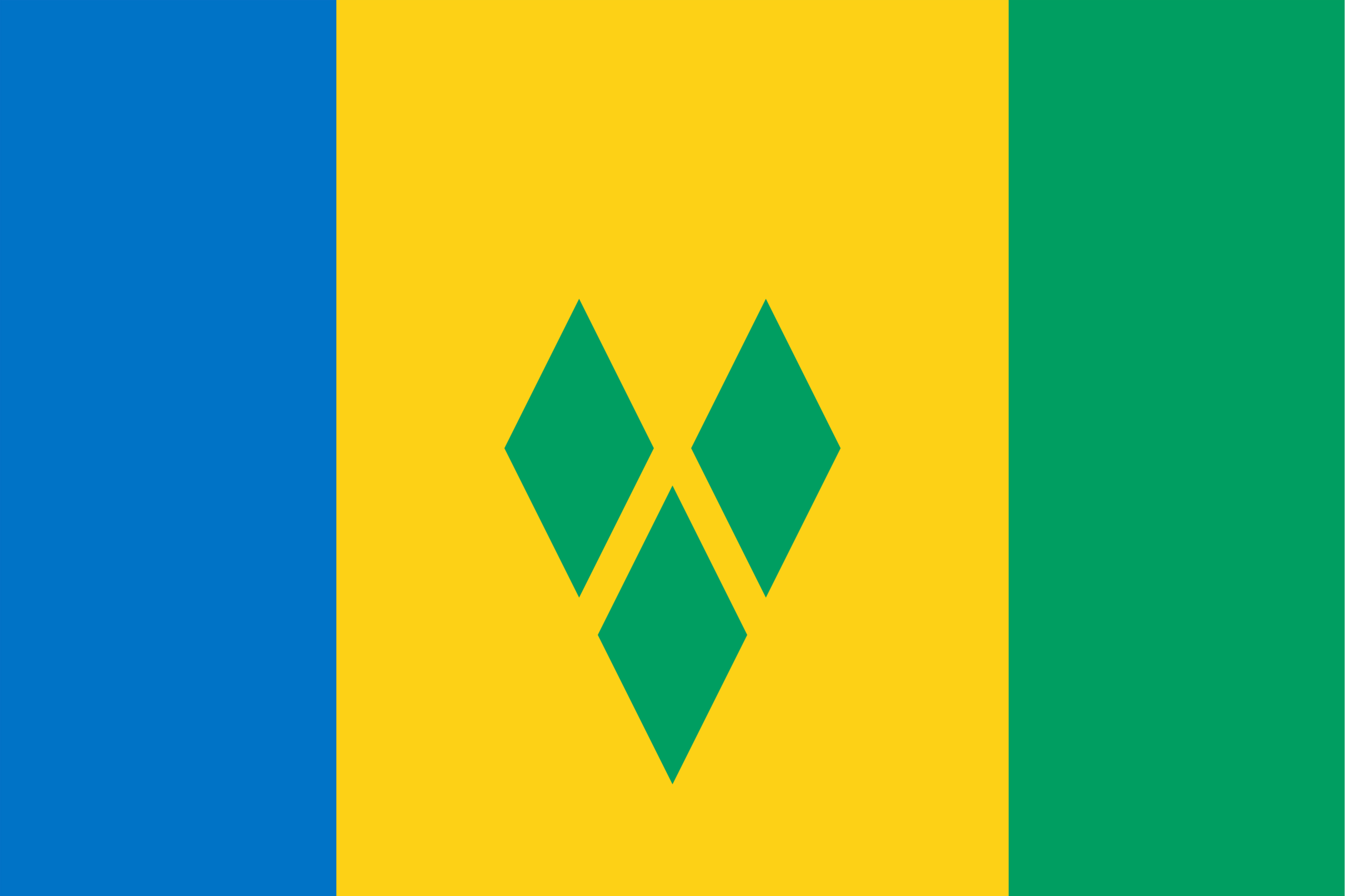 Flag of St Vincent and the Grenadines