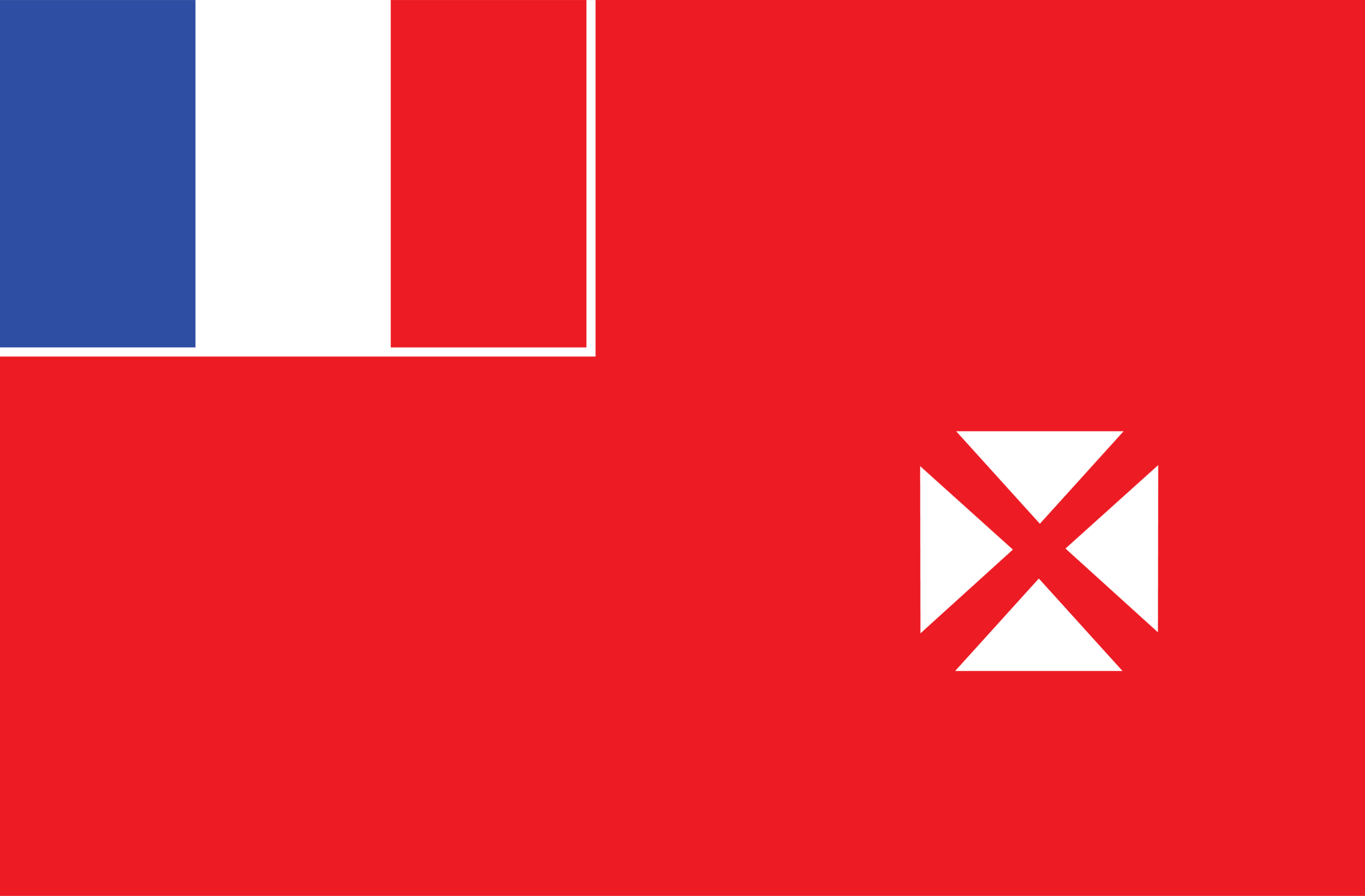 Uvéa Flag- The unofficial flag of the Territory of the Wallis and Futuna Islands