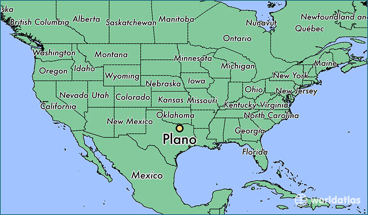 Where Is Plano Texas On The Map