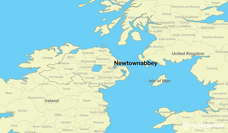 Where is Newtownabbey, Northern Ireland? / Newtownabbey, Northern ...
