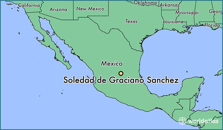 Where is Soledad de Graciano Sanchez Mexico Soledad de Graciano