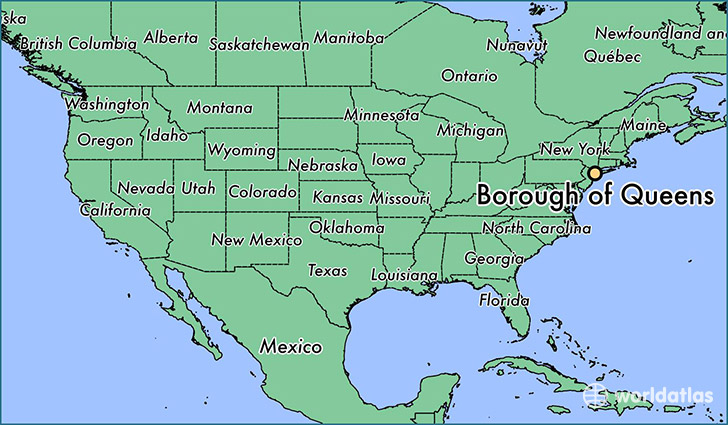 Where is Borough of Queens, NY? / Borough of Queens, New York Map