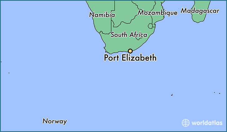 Where is Port Elizabeth, South Africa? / Port Elizabeth, Eastern