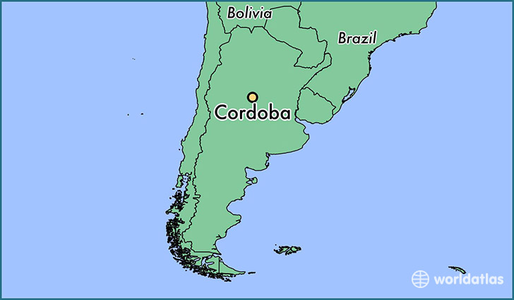 Where Is Cordoba Argentina Where Is Cordoba Argentina Located - Argentina map cordoba