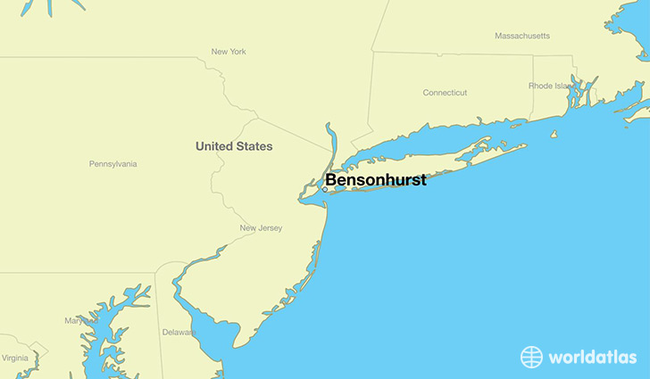 Where Is Bensonhurst NY Where Is Bensonhurst NY Located In - Usa location on world map
