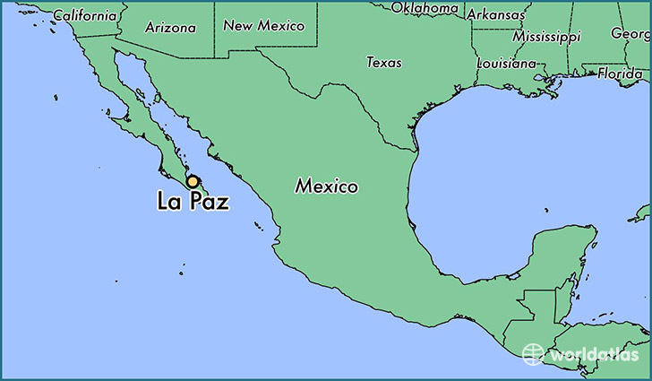 Where is La Paz Mexico La Paz Baja California Sur Map