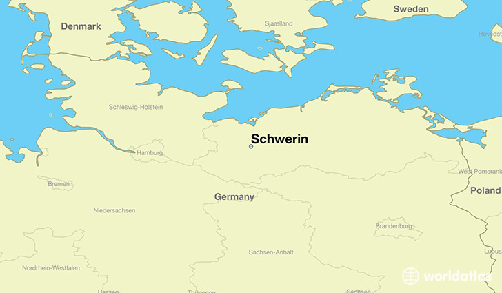 Image result for schwerin map