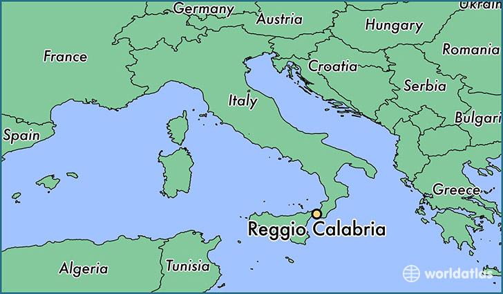 Where is Reggio Calabria, Italy? / Reggio Calabria, Calabria Map ...