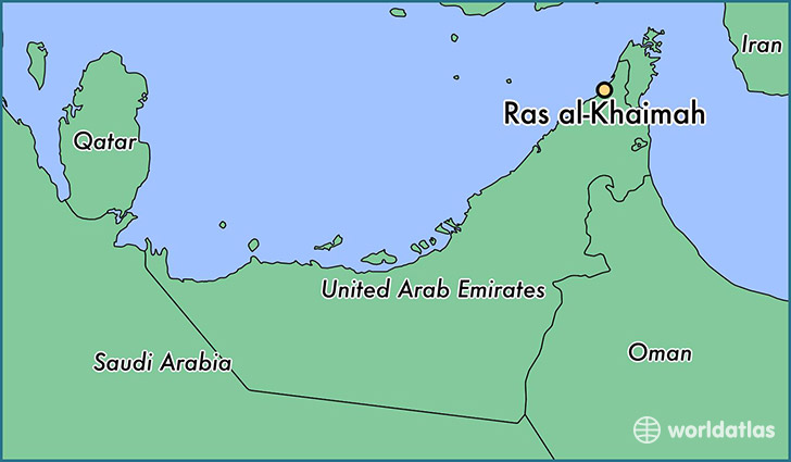 Where is Ras alKhaimah The United Arab Emirates Ras alKhaimah