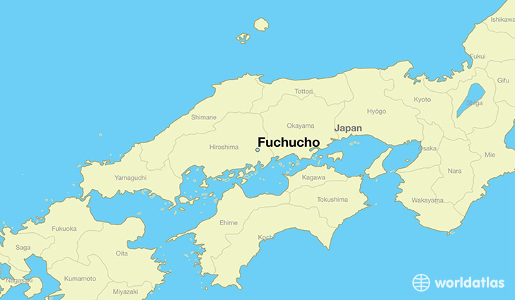 map showing the location of Fuchucho