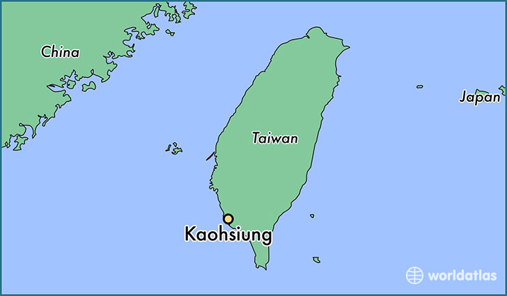 Where is Kaohsiung, Taiwan? / Kaohsiung, Kaohsiung Map - WorldAtlas.com