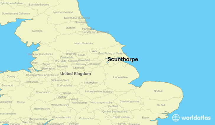 Map Of Scunthorpe Where is Scunthorpe, England? / Scunthorpe, England Map  Map Of Scunthorpe