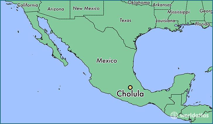 Where is Cholula Mexico Where is Cholula Mexico Located in – Map Puebla Mexico