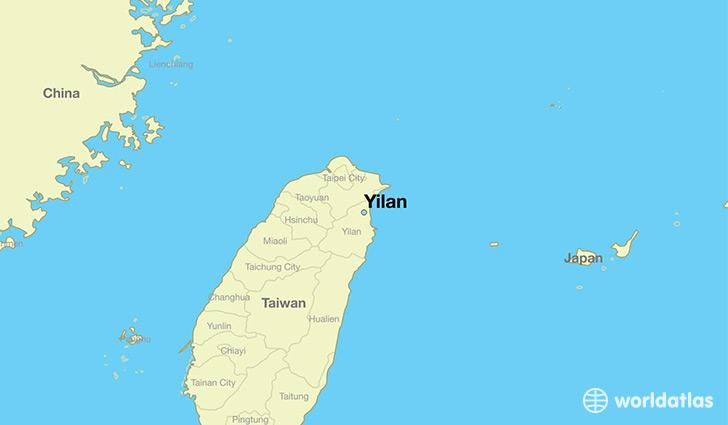 Where is Yilan Taiwan Yilan Taiwan Map WorldAtlascom