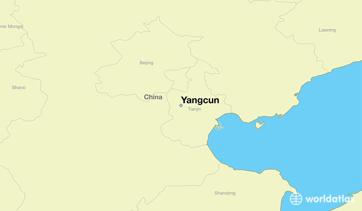 Where is yangcun china yangcun tianjin map worldatlas map showing the location of yangcun gumiabroncs Image collections