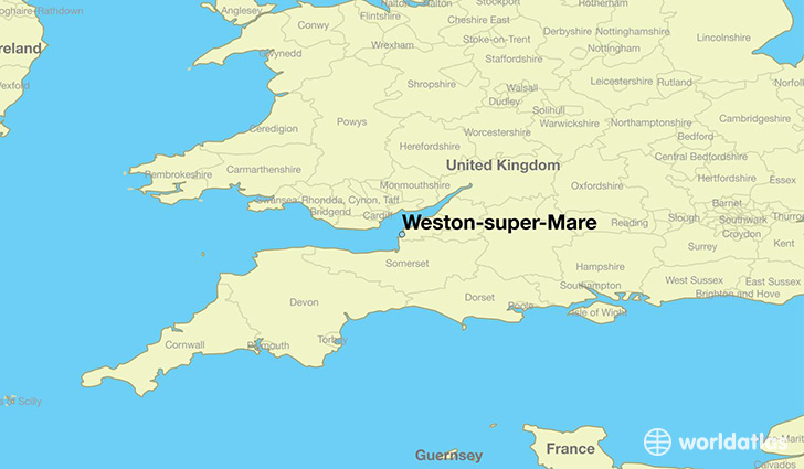 Where is WestonsuperMare England WestonsuperMare England