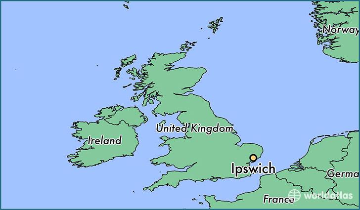 Where is Ipswich England Ipswich England Map WorldAtlascom