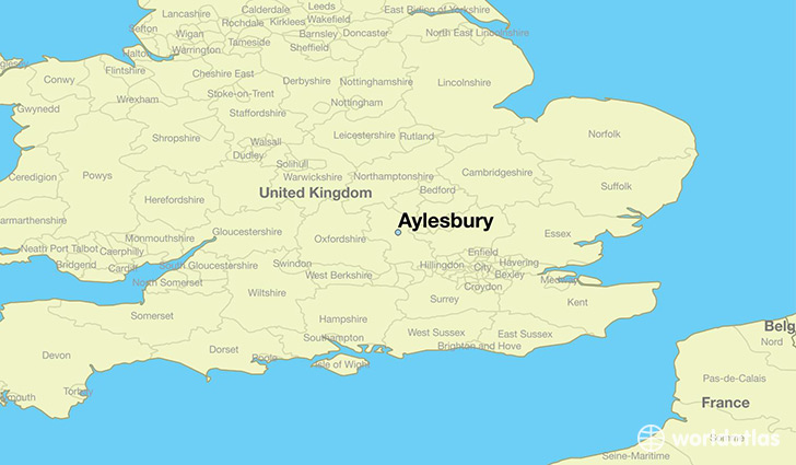 World Map Of England.Where Is Aylesbury England Aylesbury England Map Worldatlas Com