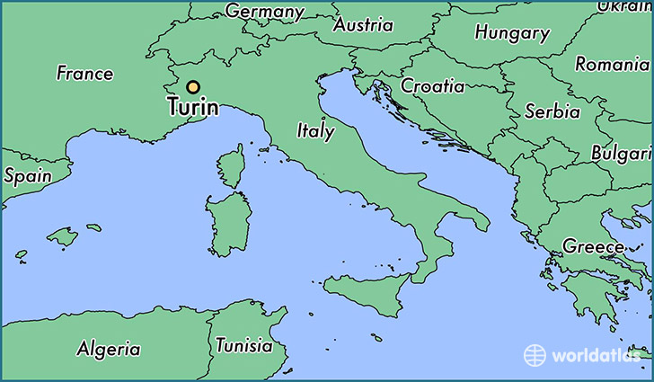 Map Of France N Italy.Where Is Turin Italy Turin Piedmont Map Worldatlas Com