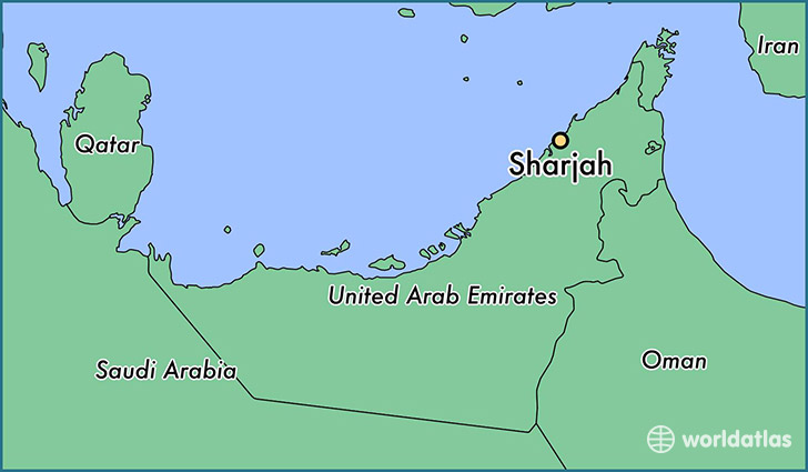 Image result for sharjah city map
