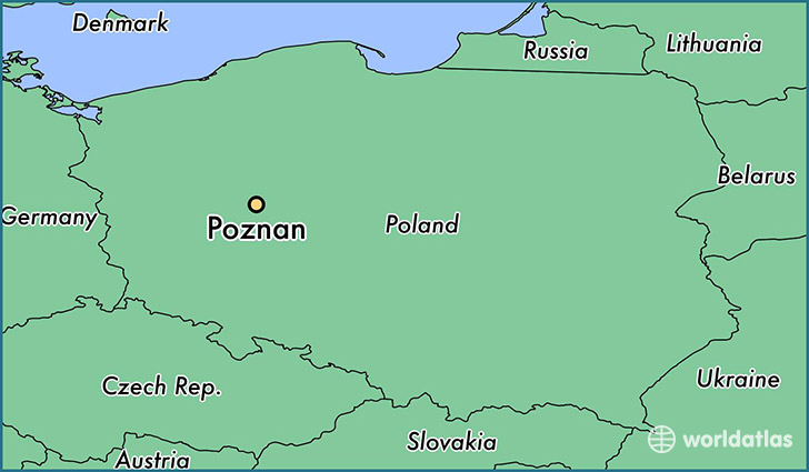 Where is Poznan, Poland? / Poznan, Greater Poland Voivodeship Map