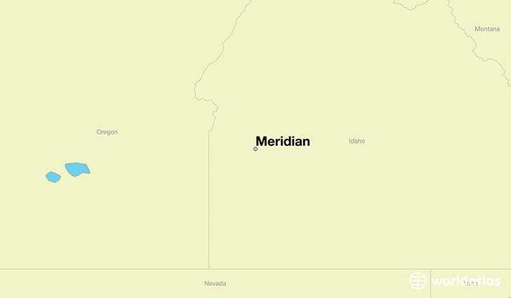 Meridian idaho time