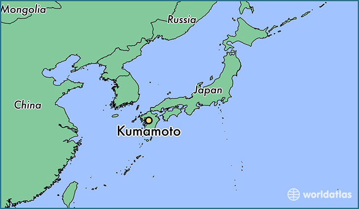 Where is Kumamoto Japan  Where is Kumamoto Japan Located in