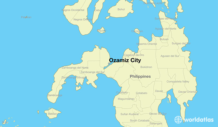 Where is Ozamiz City The Philippines  Where is Ozamiz City The