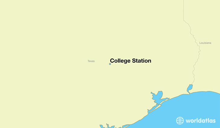 Where is college station tx where is college station tx located