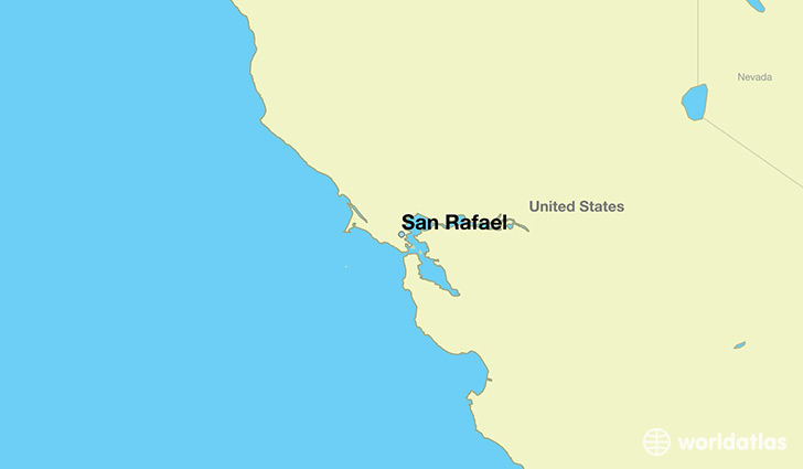 Where Is San Rafael CA Where Is San Rafael CA Located In The - Ca map usa