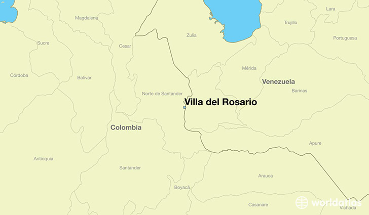 Where is Villa del Rosario Colombia Villa del Rosario Norte de