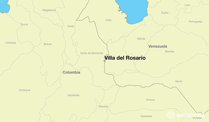 Where Is Villa Del Rosario Colombia Villa Del Rosario