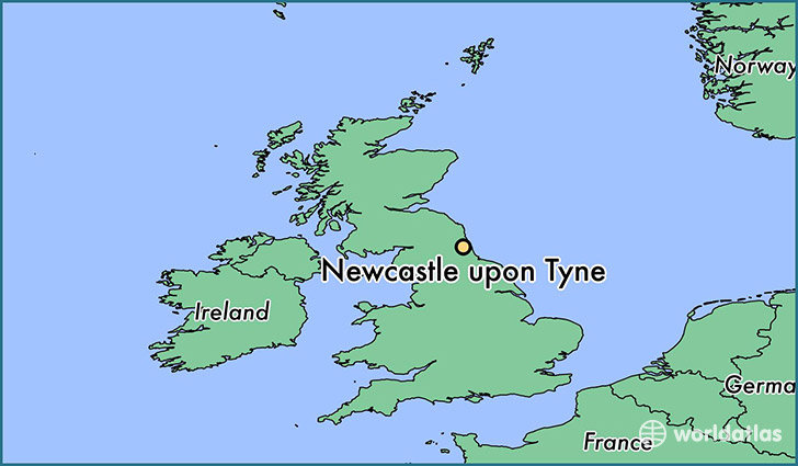 Where is Newcastle upon Tyne, England? / Newcastle upon Tyne
