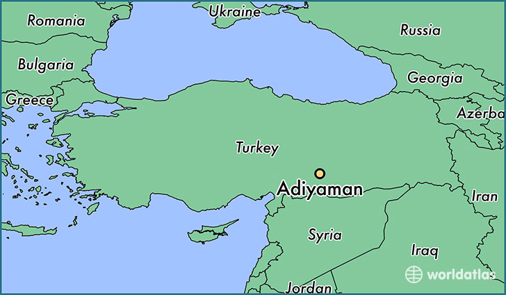 Where is Adiyaman, Turkey? / Adiyaman, Adiyaman Map - WorldAtlas.com