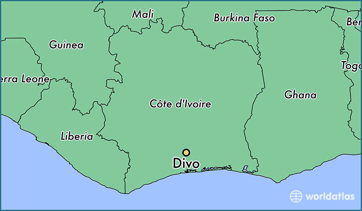 Where is Divo, Cote D\'Ivoire? / Divo, Sud-Bandama Map - WorldAtlas.com