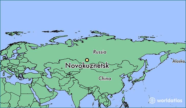 Street map Kemerovo Russia