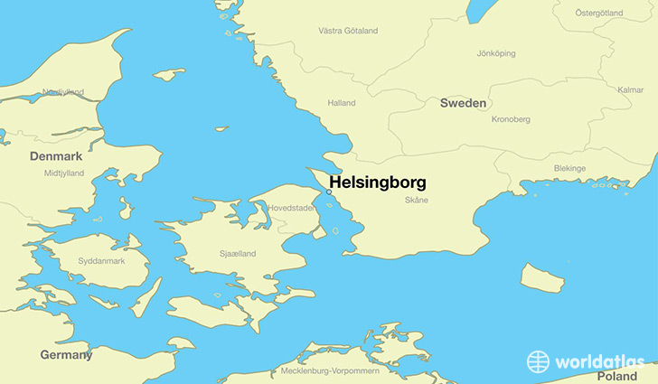 Where Is Helsingborg Sweden Where Is Helsingborg Sweden - Sweden map population