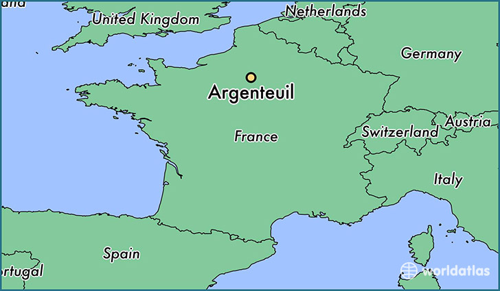 where is argenteuil france argenteuil ile de france map. Black Bedroom Furniture Sets. Home Design Ideas