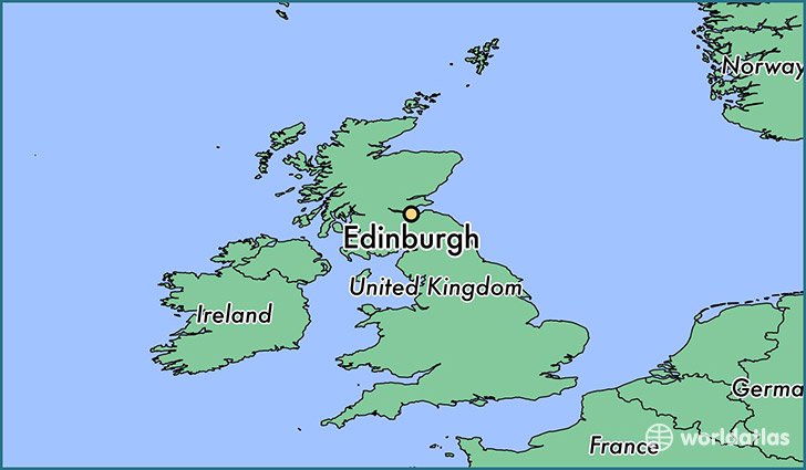 Map Of Edinburgh Scotland Where is Edinburgh, Scotland? / Edinburgh, Scotland Map  Map Of Edinburgh Scotland