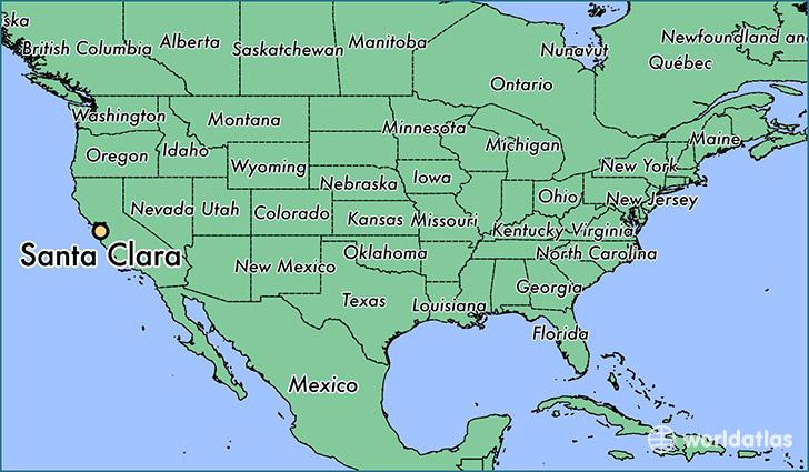 Where is Santa Clara CA Where is Santa Clara CA Located in