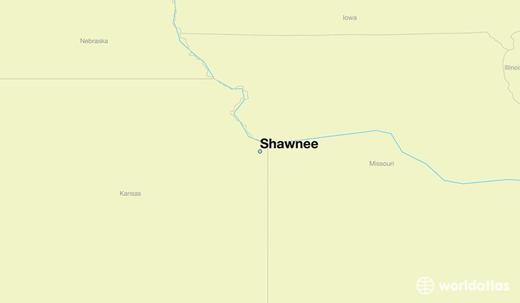 Where is Shawnee, KS? / Shawnee, Kansas Map - WorldAtlas.com on shinnecock indian nation map, santa fe map, lochbuie map, northwest oklahoma city map, inola map, raytown map, alabama-coushatta tribe of texas map, ohio national map, bennettsville map, northwest indian war map, alcova map, town of wheatfield map, cedartown map, boston map, charleston map, winnebago tribe of nebraska map, idabel ok map, eastern band of cherokee indians map, medicine lodge map, coushatta tribe of louisiana map,
