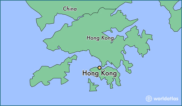 Where is Hong Kong Hong Kong Hong Kong Map WorldAtlascom
