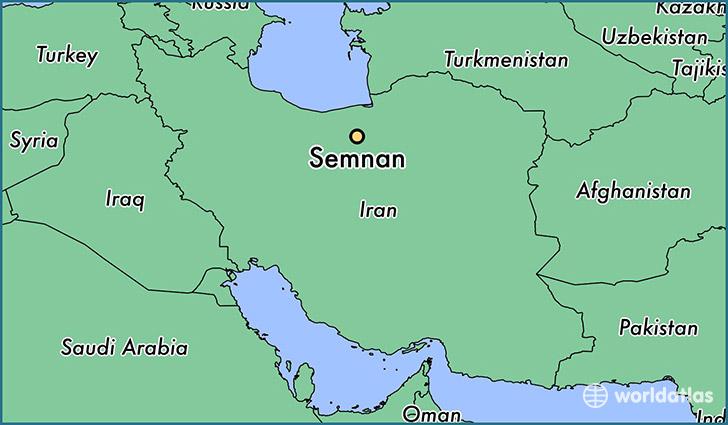 Where Is Semnan Iran Semnan Semnan Map Worldatlas Com