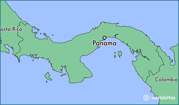 Where Is Panama Panama Panama Panama Map WorldAtlascom - Where is panama