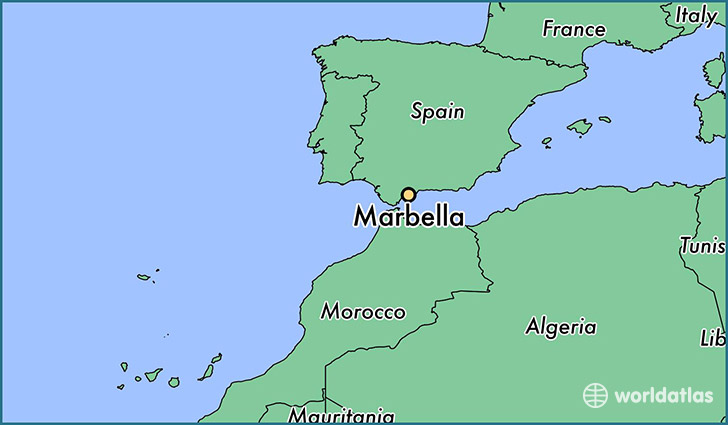 Where is Marbella, Spain? / Marbella, Andalusia Map   WorldAtlas.com
