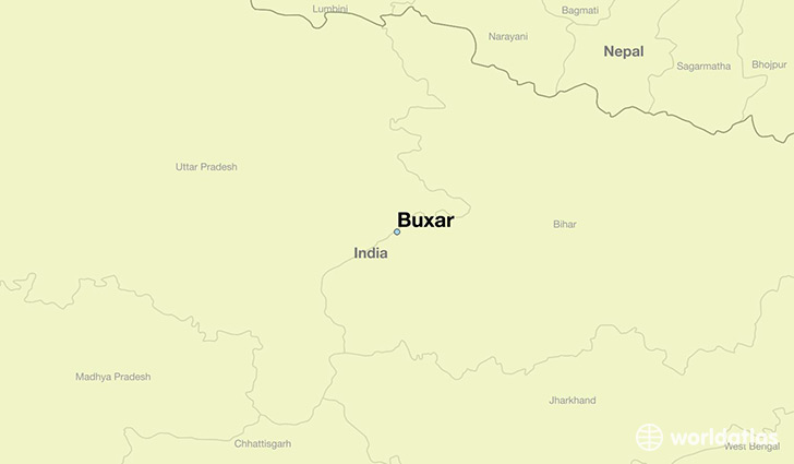 Where Is Buxar India Buxar Bihar Map Worldatlas Com