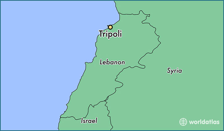Tripoli Map Images Reverse Search