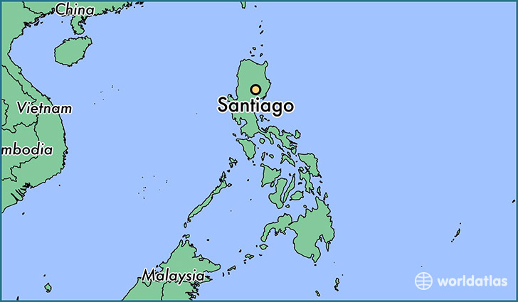 where is santiago the philippines where is santiago the