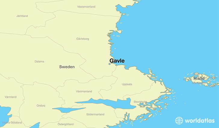 Gavle map ile ilgili görsel sonucu Gavle map